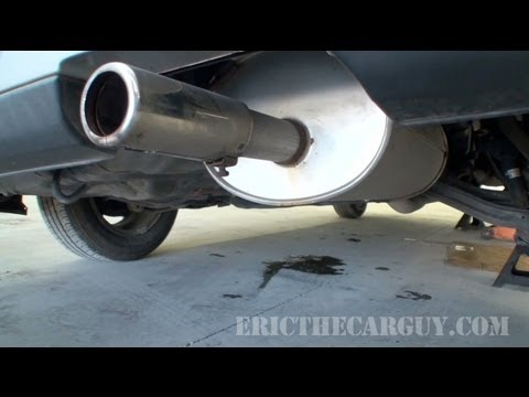 How to Find Exhaust Leaks - EricTheCarGuy
