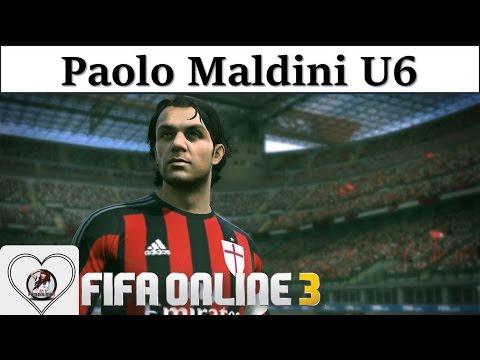 "I Love FO3 | Paolo Maldini U6 Review Fifa Online 3 New Engine 2016: Người Thủ Lĩnh "" Hoàn Mỹ """