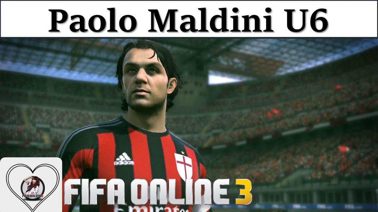 "I Love FO3 | Paolo Maldini U6 Review Fifa Online 3 New Engine 2016: Người  Thủ Lĩnh "" Hoàn Mỹ "" - YouTube"
