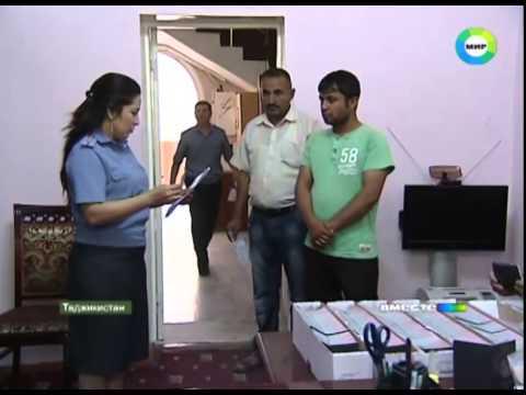 Таджикистанцы оформляют загранпаспорта для въезда в Россию