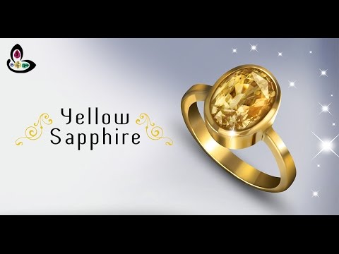 Yellow Sapphire ring Astrology