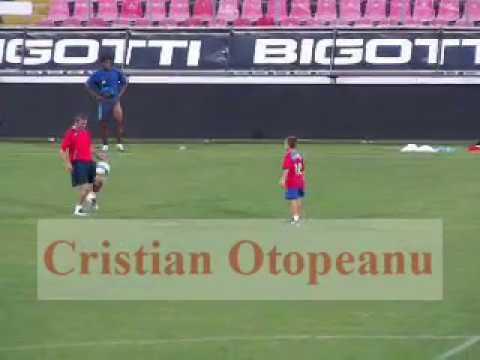Raritate: Ianis Hagi si Gica Hagi pe stadionul Steaua (2007). VIDEO: Cristian Otopeanu