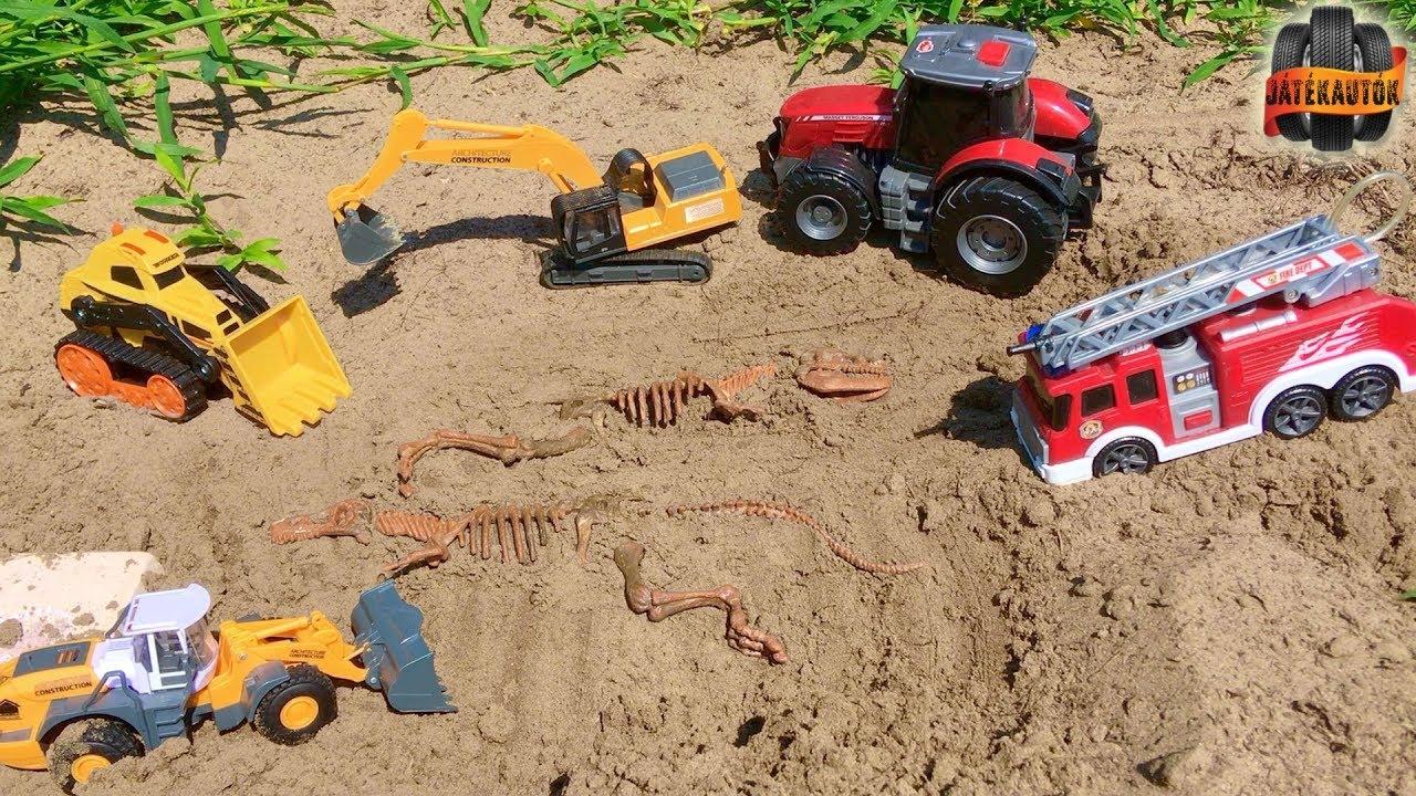 A dinoszaurusz csontváz