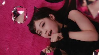 橋本環奈、セクシーな黒猫コスチューム姿披露 『リップベビークレヨン リップ&アイ』WEB限定CM「黒猫カンナ」篇