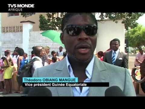 REPORTAGE ARBRE DE NOËL 2014 EN GUINÉE ÉQUATORIALE