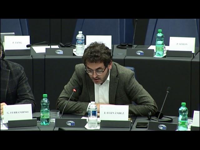 Debate con los Comisarios europeos Dormbrovskis y Moscovici