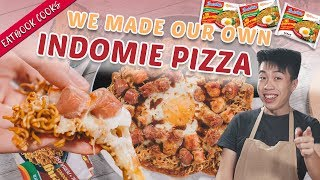 We Made An Indomie Pizza   Eatbook Cooks   EP 7