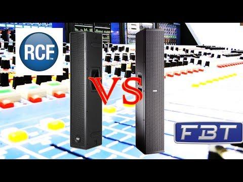 RCF Nxl24a vs FBT CLA406a