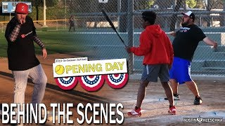 SOFTBALL OPENING DAY! *BEHIND THE SCENES* | Kleschka Vlogs