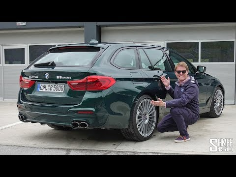 The 322km/h Alpina B5 Touring Is The ULTIMATE SLEEPER!