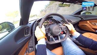 2017 Audi R8 V10 Spyder (540hp) - Handling DRIVE (60FPS)
