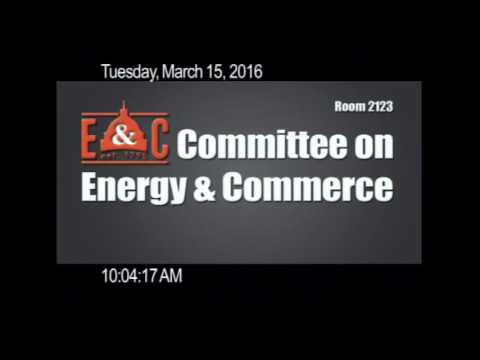 Energy and Commerce Committee Vote on H.R. 2666 and H.R. 4725