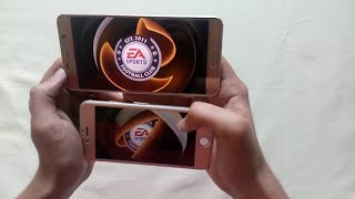 note 5 vs iphone 6 intense hd gaming speed test fifa 16 mc5 nfs bia 3