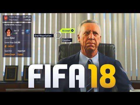 FIFA 18 TRANSFER NEGOTIATIONS GAMEPLAY!
