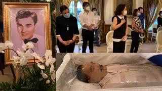 Panoorin: Burol ni Ramon Revilla Sr. Dinagsa ng mga Artista at mga Kilalang Pangalan sa Pulitika