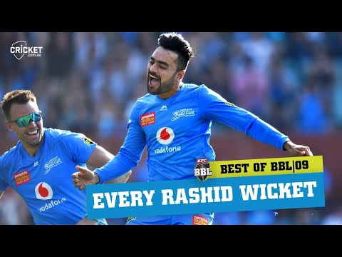 Every One Of Rashid Khan's 19 Wickets | KFC BBL|09