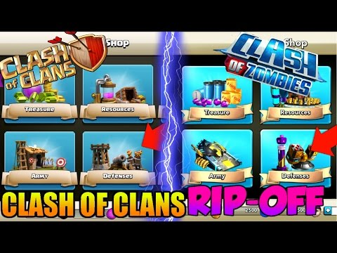 BIGGEST Clash Of Clans RIP-OFF EVER | EXACT COPY OF Clash Of Clans |