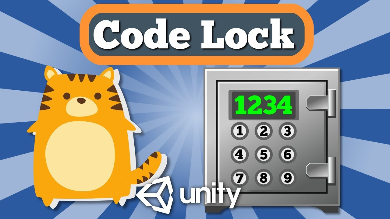 Unity 2d Tutorial How To Create Code Lock Feature To Open Safe Door In Simple Escape Quest Game Youtube