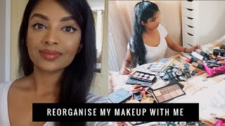 VLOG: IKEA Shopping for Makeup Storage & Reorganise my Makeup Collection with me | Nivii06