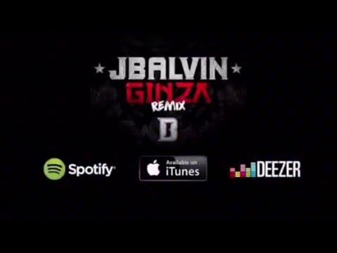 Ginza Remix Estreno Jbalvin, Daddy Yankee, Faruko, Zion, Arcangel, DeLaGhetto, Nicky Jam, Yandel