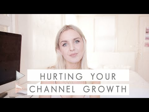 3 Things that might be Hurting your Channel Growth  | CHANNEL NOTES
