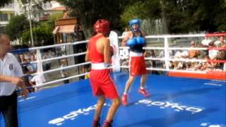 Турнир по боксу в памяти Амет хан Султана  г. Ялта финал 56 гк