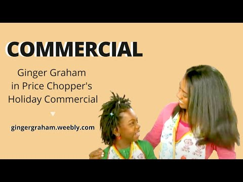 Ginger Graham   'Price Chopper' Holiday Commercial