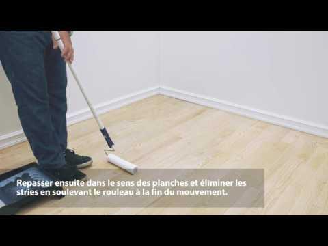 Comment appliquer du vernis au rouleau sur un plancher de bois