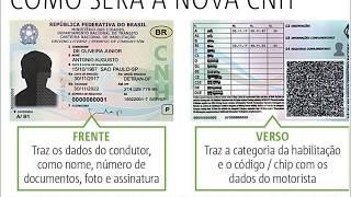 Conheca a CNH brasileira inteligente (previsao a partir de 2019)