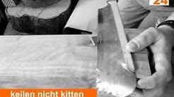 So entsteht ein massiver Holztisch in der Tischlerwerkstatt www.tischlermoebel24.de