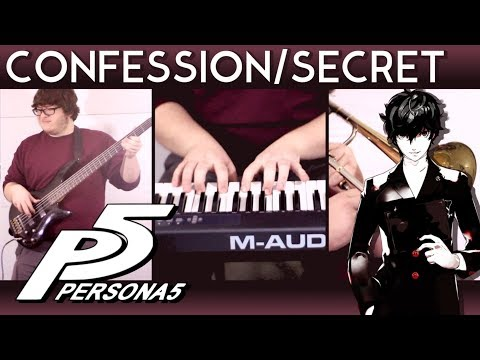 Persona 5: Confession/Secret Jazz Cover || Eric L.