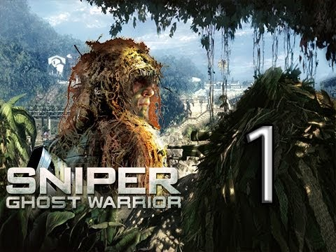 Sniper: Ghost Warrior Lets Play Walkthrough - Part 1 - One Shot, One Kill