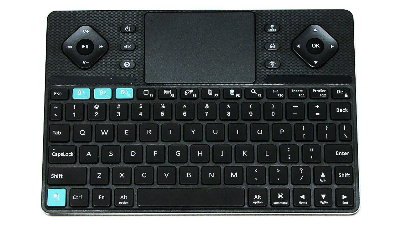 b6b00c40458 Rii K16 Dual Mode Wireless Keyboard - YouTube