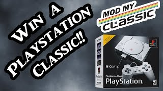 Welcome to ModMyClassic! Playstation Classic Giveaway!