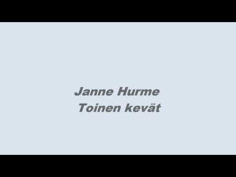 Janne Hurme Toinen kevät