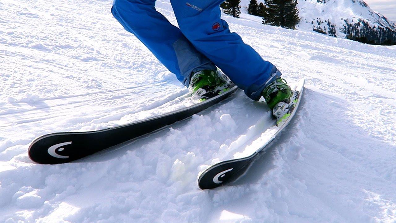 Richtig aufkanten skifahren technik quick tipp youtube