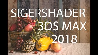 Sigershaders V Ray Material Presets Pro For 3ds Max 2018