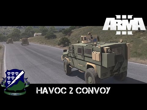 Havoc 2 Convoy - ArmA 3 Co-op Gameplay