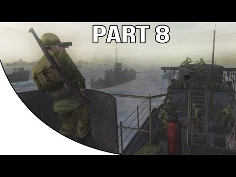 Call Of Duty 2 Big Red One - Gameplay Walkthrough Part 8 - D-Day