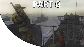 Call Of Duty 2 Big Red One Gameplay Walkthrough Part 8 D Day