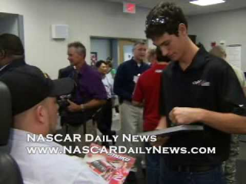 NASCAR visits Walter Reed Army Medical Center
