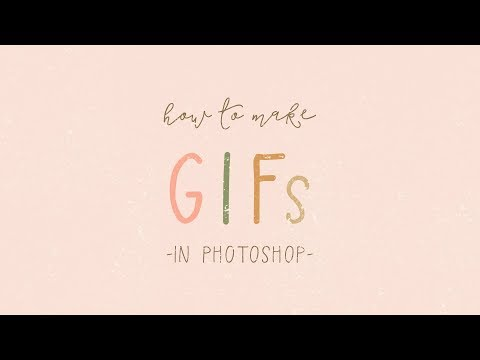 How To Make Animated GIFs In Photoshop