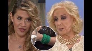 """Tensión al aire  Jimena Barón y un tremendo cruce con Mirtha Legrand: """"No te puedo respetar"""""""
