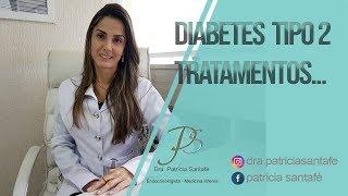 Diabetes Tipo 2 - Tratamentos - Dra. Patrícia Santafé