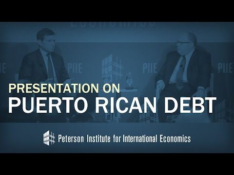 Antonio Weiss on Puerto Rican Debt