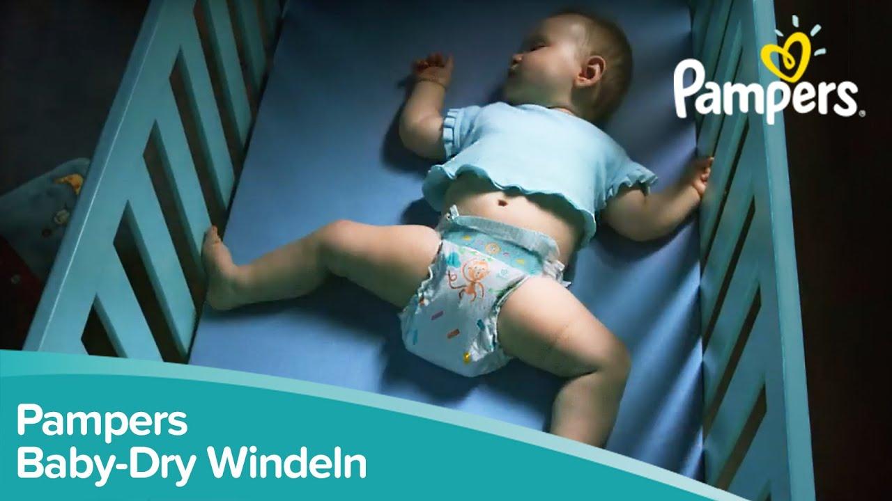 die neue verbesserte pampers baby dry rundum auslaufschutz f r einen trockeneren babyschlaf. Black Bedroom Furniture Sets. Home Design Ideas