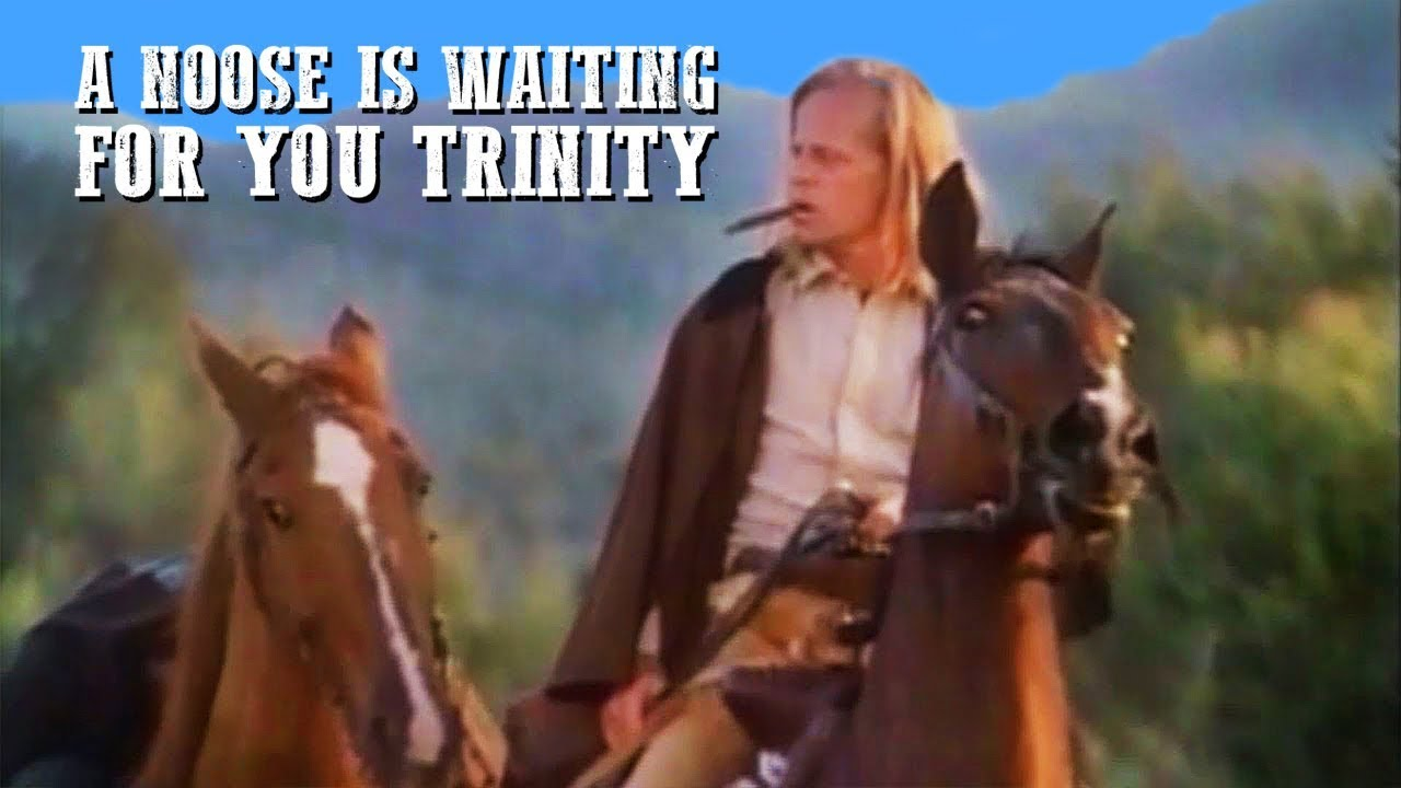 A Noose Is Waiting for You Trinity | FULL MOVIE | Spaghetti Western | Free Western