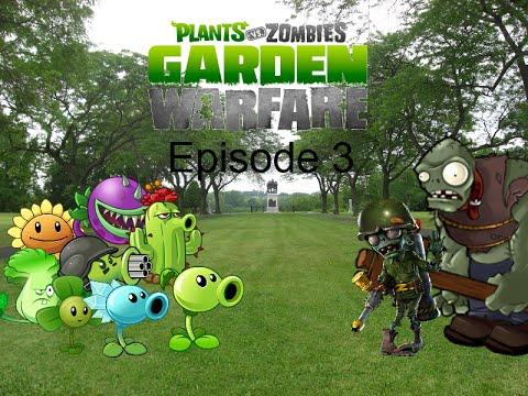 Plants Vs Zombies Garden Warfare Plush Series Episode 3 Foot Soldier Zombie Youtube