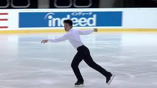 Joseph Kang США | ISU Гран при (юниоры) 2018 Каунас | Короткая программа (юноши)