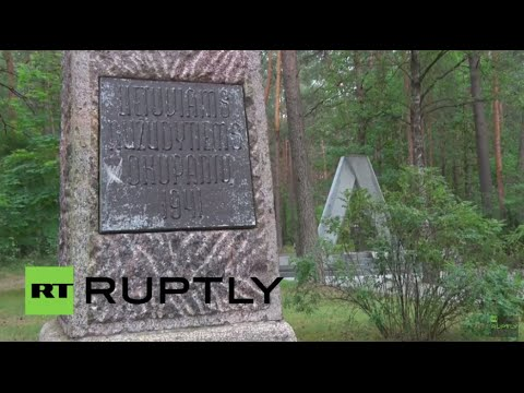 Lithuania Holocaust Escape Tunnel Discovered In Ponar